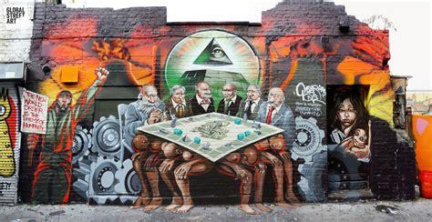 graffiti world street art a new mural row in brick lane trial by jeory