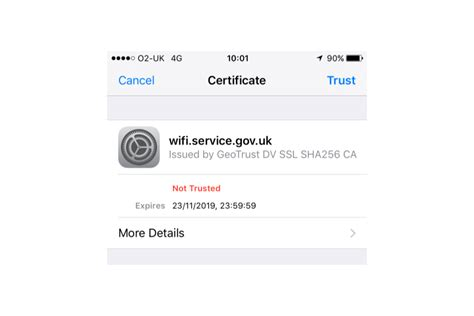 connect  govwifi   iphone  ipad govuk