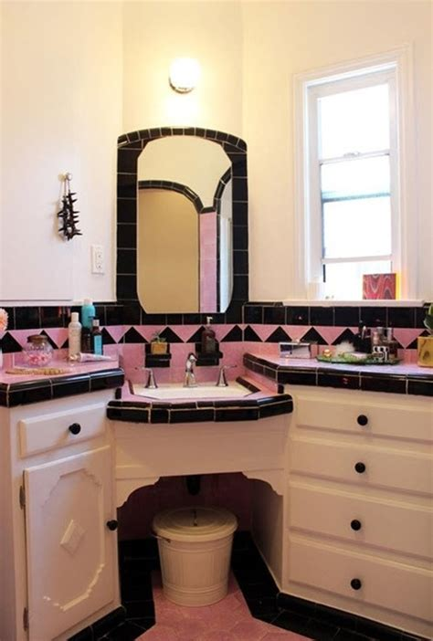 black and pink bathroom 33 pink and black bathroom tile ideas and pictures