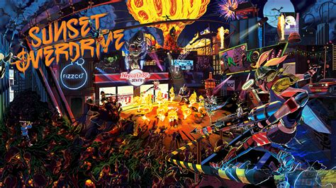 Sunset Overdrive Wallpaper sunset overdrive hd wallpaper and achtergrond