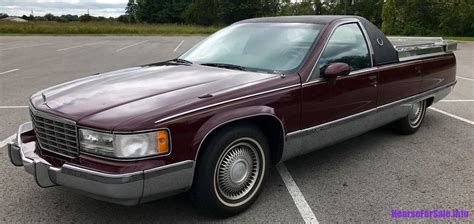 Cadillac Car For Sale 1993 cadillac fleetwood brougham flower car hearse