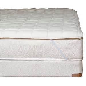 organic mattress topper buy naturepedic 174 organic cotton quilted xl mattress