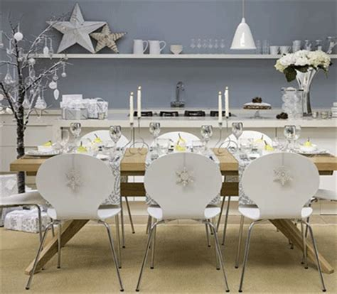 decorating dining rooms decorating dining room for christmas white silver