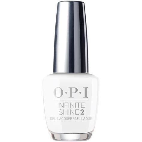 opi infinite shine nail lacquer alpine snow is ll00 15ml
