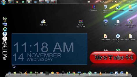 calendario para escritorio windows 7 como descargar e instalar reloj digital para el escritorio
