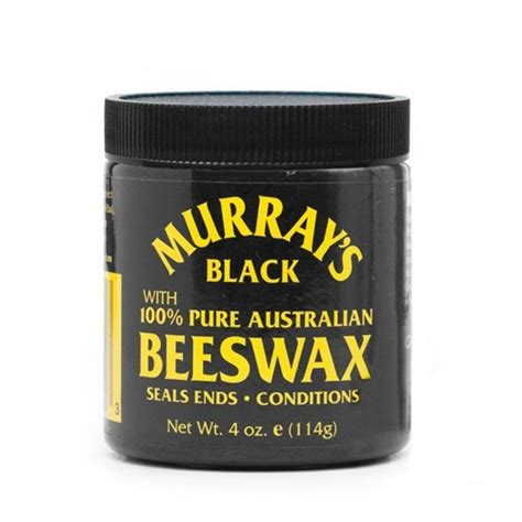 Sale Dax Black Bees Wax Beeswax Pomade Oilbased 3 5oz Free Sisir murray s black beeswax pomade the alpha