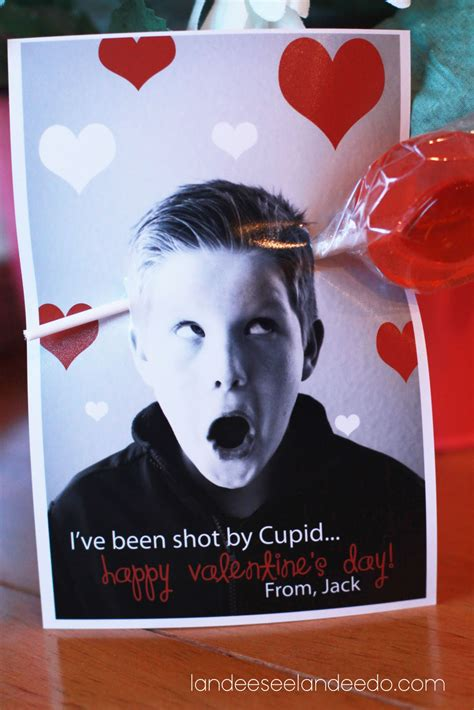 boys valentines cards photo card ideas landeelu