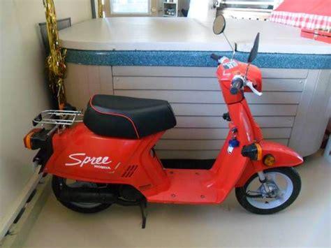1986 Honda Spree by 1986 Honda Spree No Spark