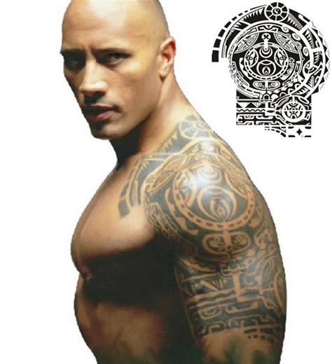 dwayne johnson tattoos top rock dwayne johnson images for