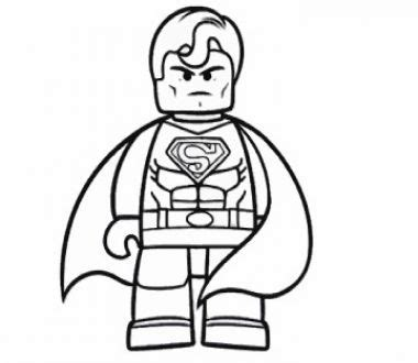 play for free: the lego movie superman coloring, online game