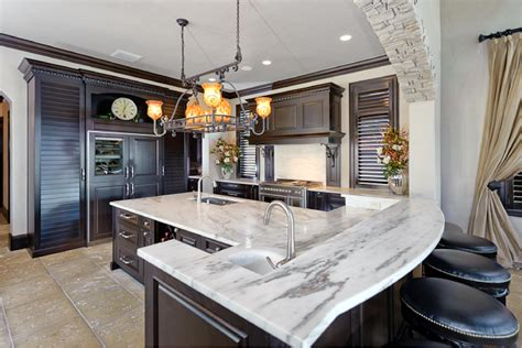 Kitchen Island Lighting System With Pendant And Chandelier Kitchen Countertop Lighting
