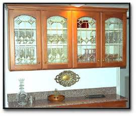 Stained Glass Kitchen Cabinet Doors Home Remodeling Ideas Kitchen Cabinet Doors With Decorative Stained Glass Overlay