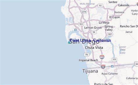 california map loma point loma california tide station location guide