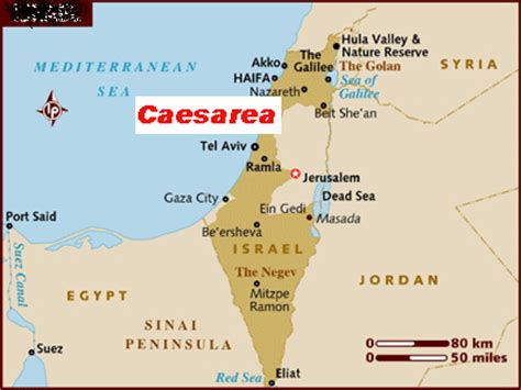 caesarea philippi map christianity a middle east religion only 500 years in
