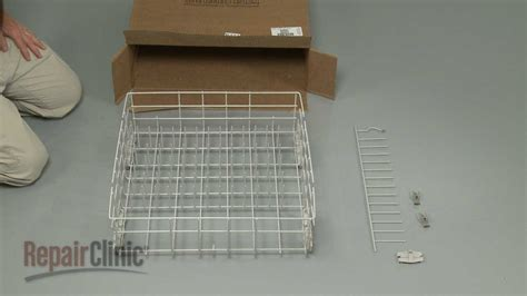 Whirlpool Dishwasher Replacement Racks by Dishwasher Lower Dish Rack Assembly Replacement Whirlpool