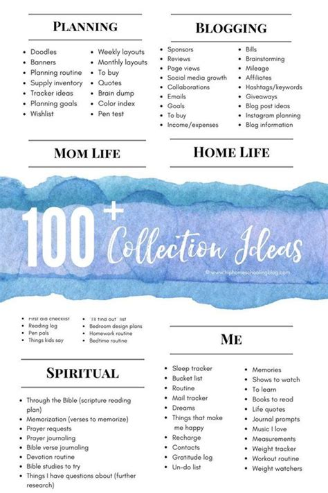 printable bullet journal ideas 100 bullet journal collection ideas planners bullet