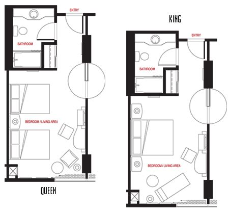 hotel room layout and design hotel room floor plans in las vegas nv best las