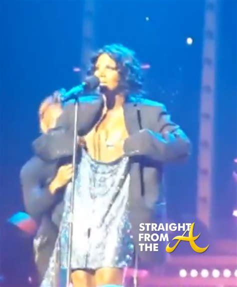 Tamar Braxton Wardrobe toni braxton wardrobe malfunction 2013 5