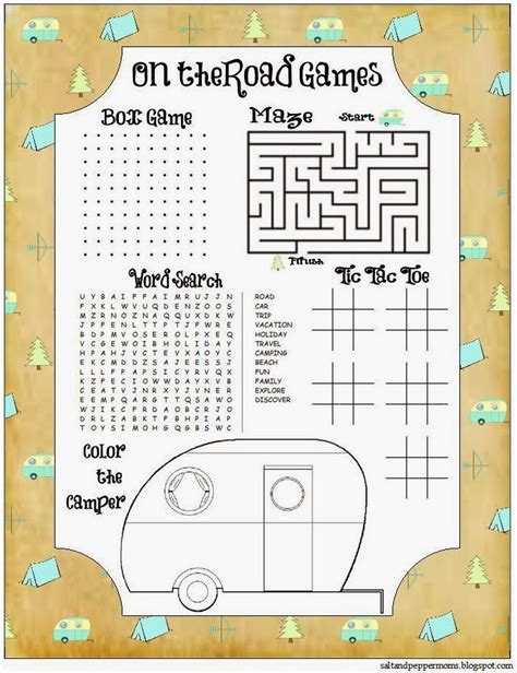 printable road trip activities free road trip printables for kids game and journaling