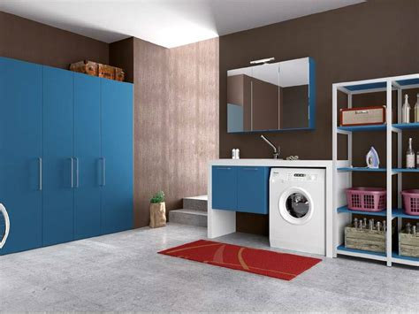 mobili bagno lavatrice idee arredo salvaspazio