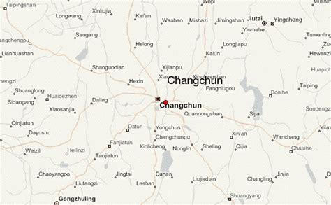 changchun map changchun location guide
