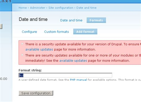 date format javascript minutes drupal cck date field with just hours and minutes stack