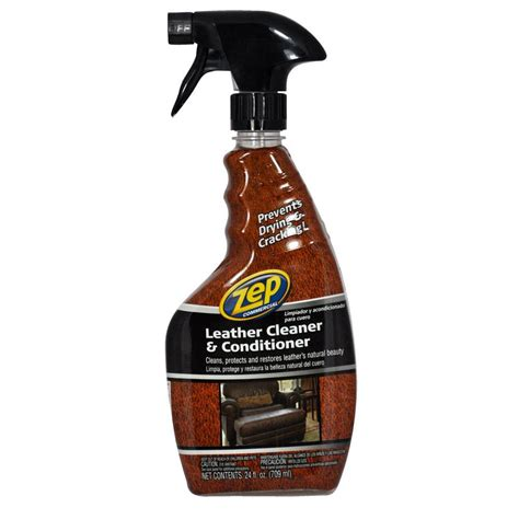 leather upholstery cleaner products zep 24 oz leather cleaner and conditioner zuclc24 the