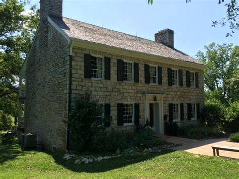Daniel Boone Home by The Front Of Nathan Boone S Home