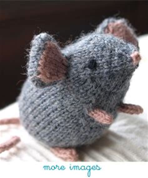knitting pattern rat crochet knit mouse rat hedgehog on pinterest crochet