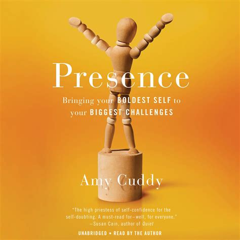 presence bringing your boldest self to your challenges books presence audiobook by cuddy for just 5 95