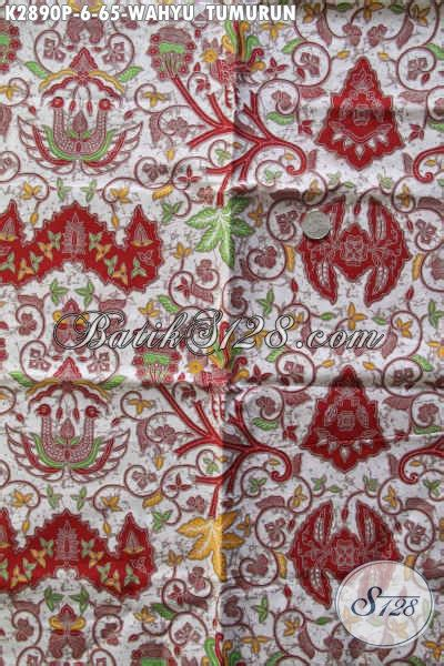 Batik Halus Khas Jogja Motif Wahyu Tumurun batik klasik motif wahyu tumurun proses printing dengan