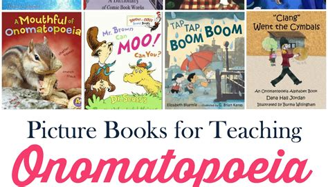 using picture books to teach teaching onomatopoeia with picture books