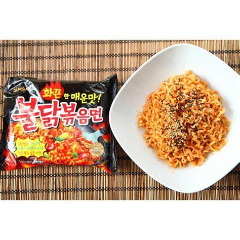Samyang Chiken Spicy samyang spicy chicken ramen spicy 5 pcs elevenia