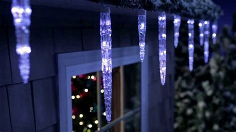 lightshow color change icicle lights icicle lights