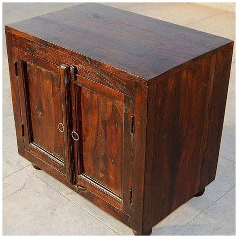 espresso wood storage shelf kitchen cabinet side table