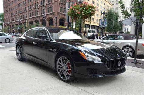 Maserati Msrp 2014 by Purchase New 2014 Maserati Quattroporte Gts Black Black