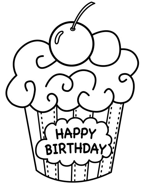 coloring picture 10 happy birthday coloring pages for toddlers