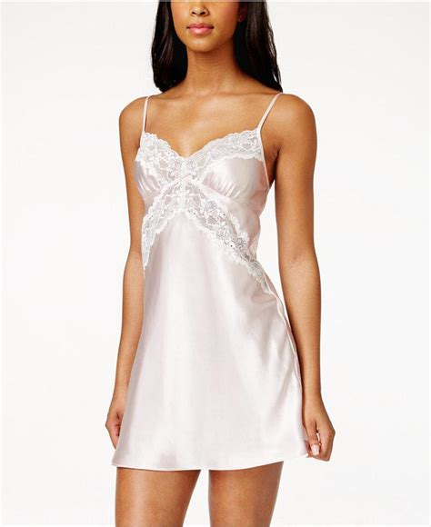 Wedding Hair Accessories Macy S by Lace Trim Satin Bridal Chemise Only At Macy