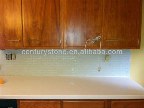 Rosario Premium Glass Putih Elegan 8mm penjualan panas es kaca mosaik ubin putih orient ubin ubin dinding bata pola mosaik buy