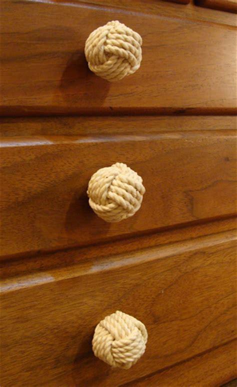 Kitchen Cabinet Knob small monkey s fist cabinet or furniture knob skipjack