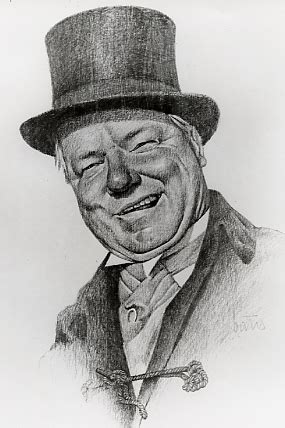 W C Fields Sketches by Superior View
