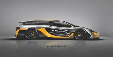 mercedes mclaren p1 mclaren p1 gtr shooting brake rendered as insanely