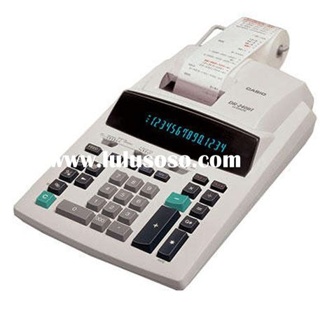 Paket Casio Hr 100 Tm Adaptor casio hr 100tm printing calculator for sale price hong