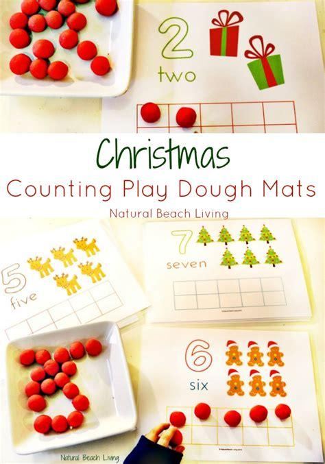 Playdough Math Mats by Counting Play Dough Mats Living
