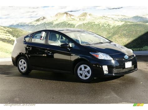 cars toyota black 2010 toyota prius hybrid iv in black 226986 jax sports