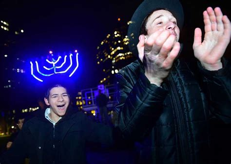 festival of lights new haven ct menorah lights up new haven green to mark first night of