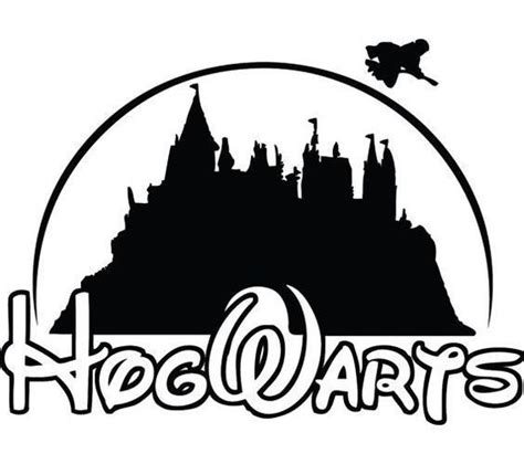 hogwarts disney tattoo design
