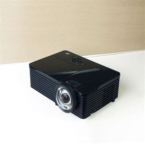Proyektor Usb 3500 Lumens Dlp Projector 1920 1080p Hd Rj45 Usb Port Projector Reflective With Whiteboard