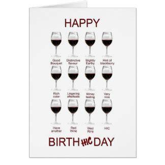 funny wine birthday cards amp invitations zazzle com au