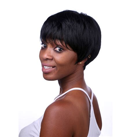 short hairstyle wigs for black women aliexpress com buy rihanna hairstyle black wig short
